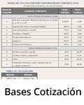 Acceso Bases de cotización
