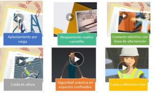 Vídeos realizados por la Inspección de Trabajo y Seguridad Social